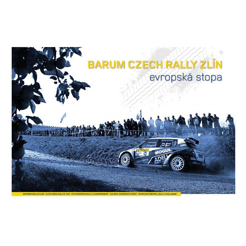 "Barum Rally: Kniha ""Barum Czech Rally Zlín - Evropská Stopa"""